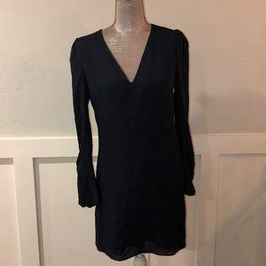 NWT Joie Blue silk dress, size 6